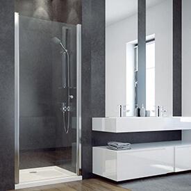 Jednokřídlé sprchové dveře