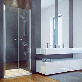 Dvoukřídlé sprchové dveře